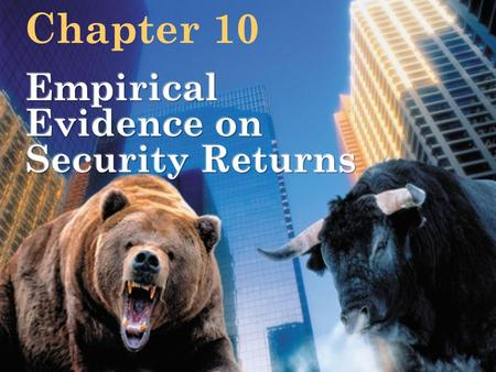 Bodie Kane Marcus Perrakis RyanINVESTMENTS, Fourth Canadian Edition Chapter 10.