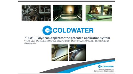 """PCA"" – Polyclean Applicator the patented application system"