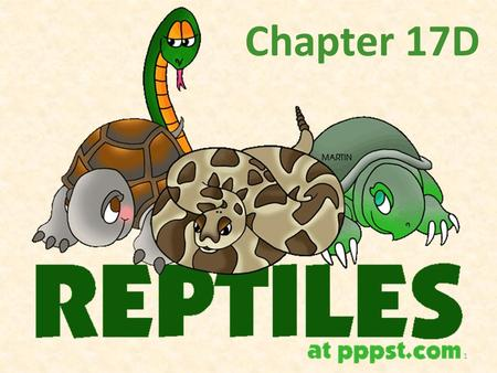 Chapter 17D 1. Class Reptilia Characteristics 1. Skin Note: What is Keratin? Note: Why the need to keep heat in? Cool, dry, leathery. Scales composed.