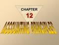 CHAPTER 12 CONCEPTUAL FRAMEWORK OF ACCOUNTING Generally accepted accounting principles are a set of rules and practices that are recognized as a general.