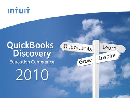 Intuit Canada ULC How to Implement QuickBooks Training in your Practice.