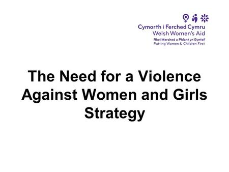 The Need for a Violence Against Women and Girls Strategy.