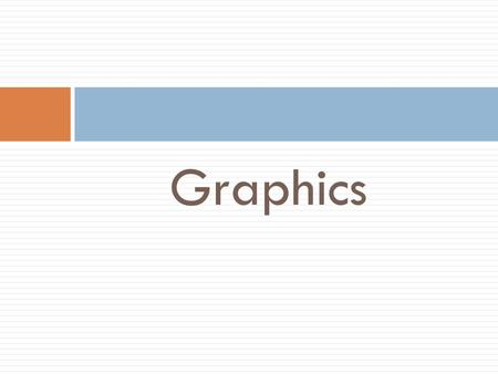 Graphics. Graphic is the important media used to show the appearance of integrative media applications. According to DBP dictionary, graphics mean drawing.