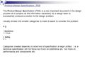 Product Design Specification - PDS The Product Design Specification (PDS) is a very important document in the design process as it contains all the information.
