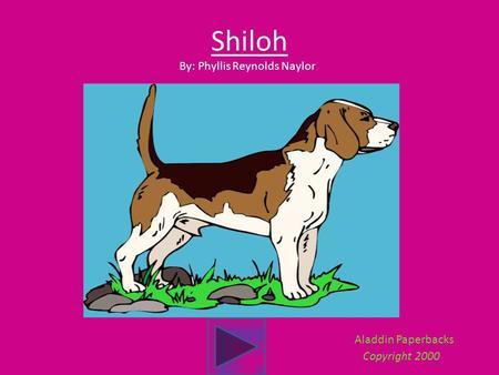 shiloh essay naylor