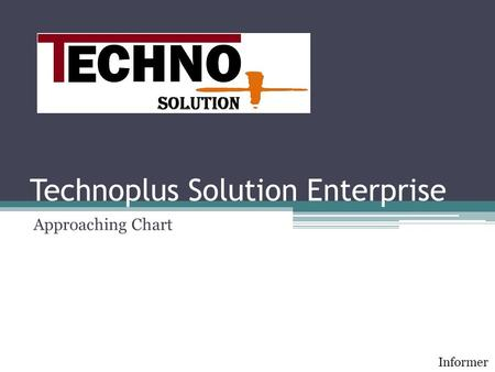 Technoplus Solution Enterprise Approaching Chart Informer.