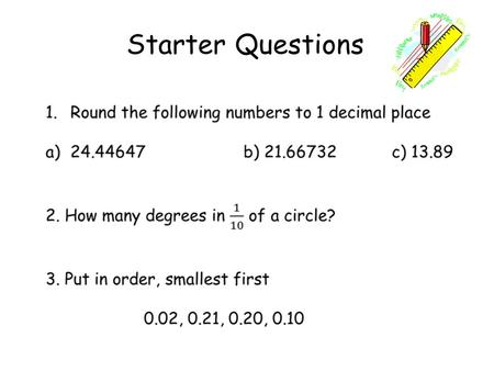Starter Questions. Learning Intention To explain how to calculate wages. Wages & Salaries.