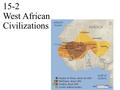 15-2 West African Civilizations