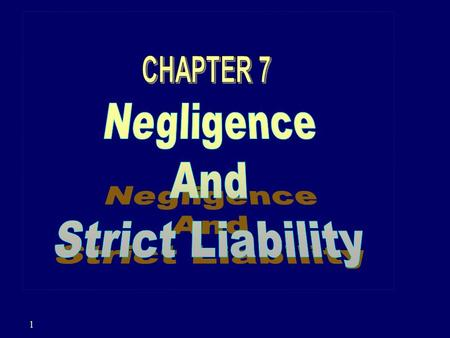 1. 2 NEGLIGENCE CONDUCT THAT INVOLVES AN UNREASONABLY GREAT RISK OF HARM THAT FALLS BELOW THE STANDARD OF CARE THE LAW ESTABLISHES FOR THE PROTECTION.