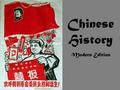 Chinese History Modern Edition. How did Imperialism Impact China? China tried to shut itself off. Europeans forced China to give them access to their.