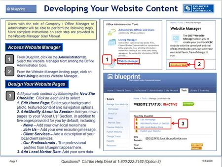 Making Your Website Public From the left panel of the Website Manager page, select Preview Website. A landing page will open. Click on the orange Preview.
