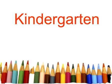Kindergarten. Free powerpoint template: www.brainybetty.com 2 Unit 1 Week 1 High Frequency Words.