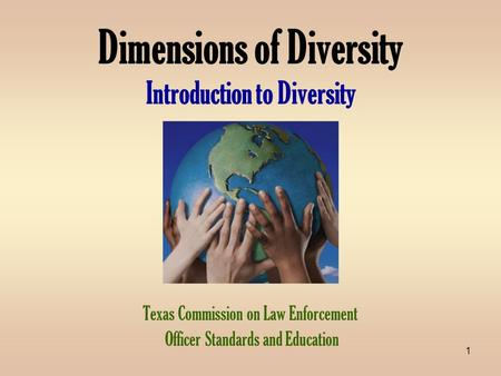 an introduction to the diversity in our world