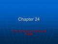 Chapter 24 Time-Varying Currents and Fields. AC Circuit An AC circuit consists of a combination of circuit elements and an AC generator or source An AC.