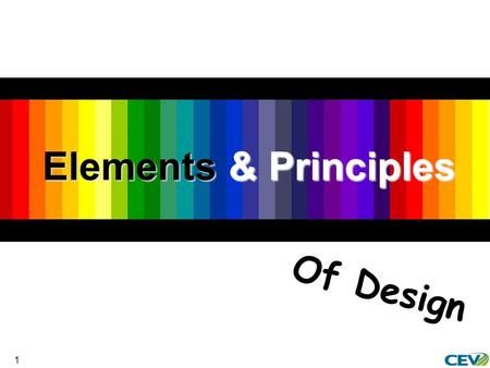 1 Elements & Principles Of Design. 2  To identify elements and principles of design  To examine the impact of elements and principles of design on apparel.