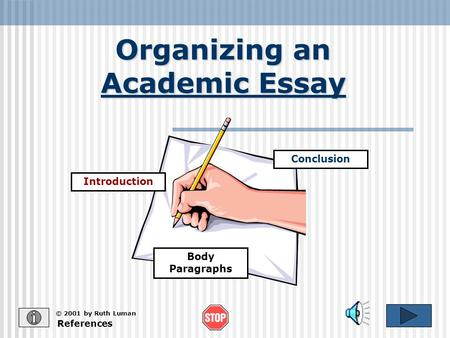 how to write an academic essay conclusion