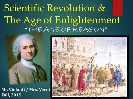 the age of reason and revolution essay The neolithic revolution (new stone age) was the first agricultural revolution it was a gradual change from nomadic hunting and gathering communities and bands to.