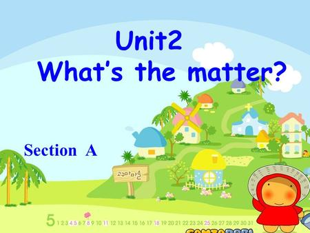 Unit2 What's the matter? Section A 1a: Look at the picture. Write the correct letter (a-m) for each part of the body.