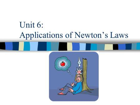 Unit 6: Applications of Newton's Laws. Sections A and B: Friction Corresponding Book Sections: –6.1 PA Assessment Anchors: –S11.C.3.1.