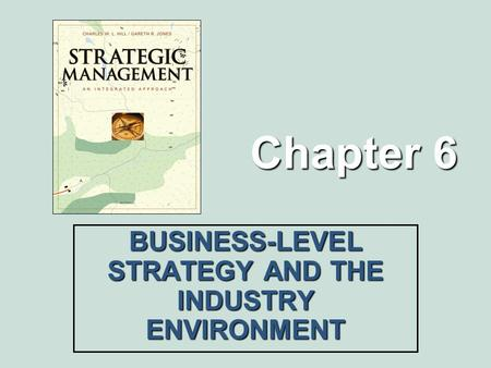 Chapter 6 BUSINESS-LEVEL STRATEGY AND THE INDUSTRY ENVIRONMENT.