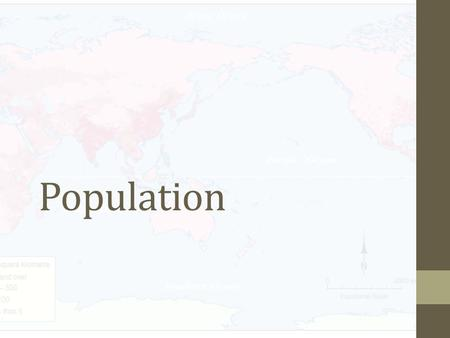Population. Key knowledge and skills Distribution and composition Future patterns.