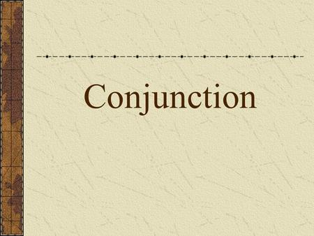 Conjunction. A conjunction is used to join words or group of words Kinds of conjunctions Coordinating conjunctions Correlative conjunctions Subordinating.