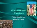 AP Government Chapter 6 Public Opinion and Political Action.