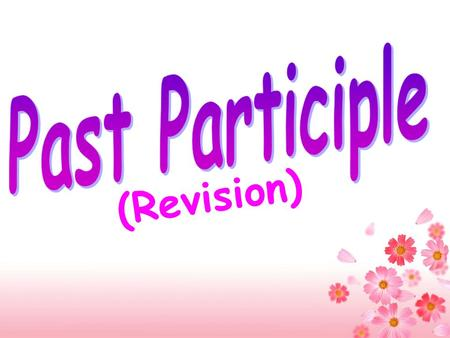(Revision) _______ from the top of the hill, the sea is very beautiful. _______ from the top of the hill, I like the city very much. Seen Seeing.