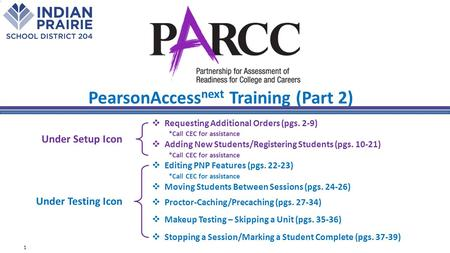  Requesting Additional Orders (pgs. 2-9) *Call CEC for assistance  Adding New Students/Registering Students (pgs. 10-21) *Call CEC for assistance  Editing.