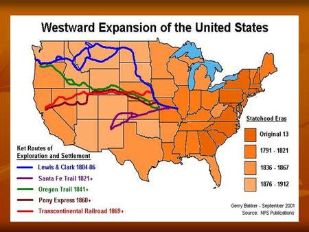 CRQ Answers 1. Most railroads were located in the Northeast and Midwest. 2. The railroad created the Eastern, Central, Mountain, and Pacific time zones.