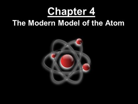 Chapter 4 The Modern Model of the Atom. The Puzzle of the Atom  Protons and electrons are attracted to each other because of opposite charges  Electrically.