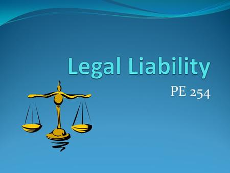 PE 254. Negligence The legal claim that a person failed to act as a reasonable and prudent person should, thereby resulting in injury to another person.