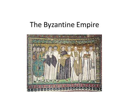 The Byzantine Empire. Questions and Titles The Byzantine Empire.