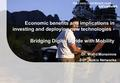 Economic benefits and implications in investing and deploying new technologies - Bridging Digital Divide with Mobility Dr. Walid Moneimne SVP, Nokia Networks.