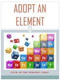 CLICK ON THE PERIODIC TABLE 1 ADOPT AN ELEMENT Adopt an Element INTRODUCTION 2 Let's put your knowledge to the test and see how resourceful you can be.