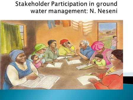  Learn how to identify and categorise stakeholders.  Consider different stakeholder structures and responsibilities in groundwater management.  Get.