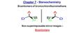 Chapter 7 - Stereochemistry Enantiomers of bromochlorofluoromethane Non-superimposable mirror images – Enantiomers.