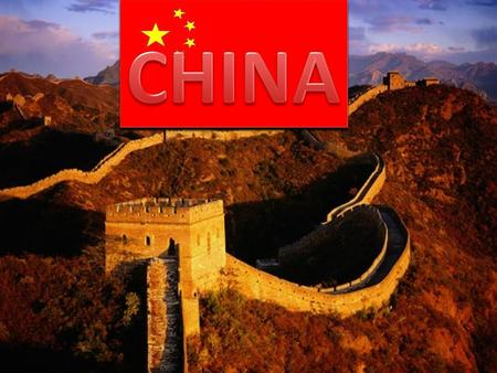 China is the world's oldest continuous civilization. China has been settled for over 4,000 years. Originally ruled by dynasties – a series of rulers from.