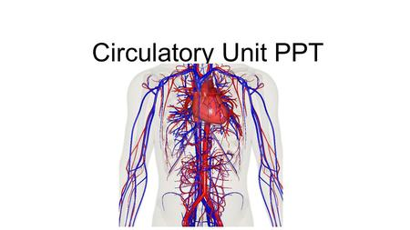 Circulatory Unit PPT. Chapter Abbreviations Using packet B. Please put back when you are finished.