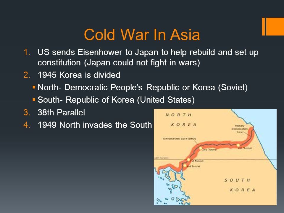 War in Korea 1.15 Nations along with UN and US offered troops to help the South Koreans  Douglas McArthur-leader 2.Things got worse when China started helping North Korea  McArthur wanted to invade China  Truman said no and fired him 3.Things looking bad in Korea