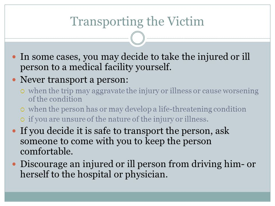 Summary Check the scene and the victim Call 9-1-1 Care for the victim until advanced medical personnel arrive