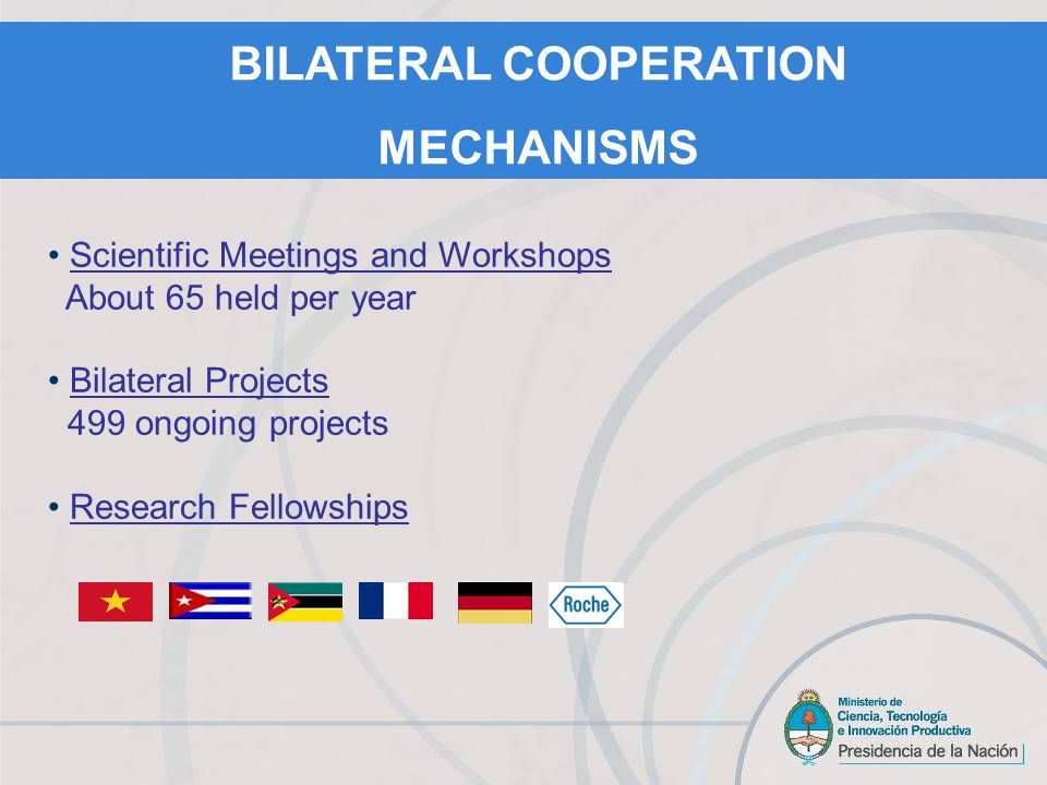 Austria: BMWF Germany: BMBF, DAAD Belgium: FWO, FNRS Brazil: CAPES Chile: CONICYT Colombia: COLCIENCIAS Cuba: CITMA Slovenia: MHEST Spain: MICIIN France: ECOS, MATH AMSUD, STIC AMSUD, INRIA / CNRS, ARFITEC.