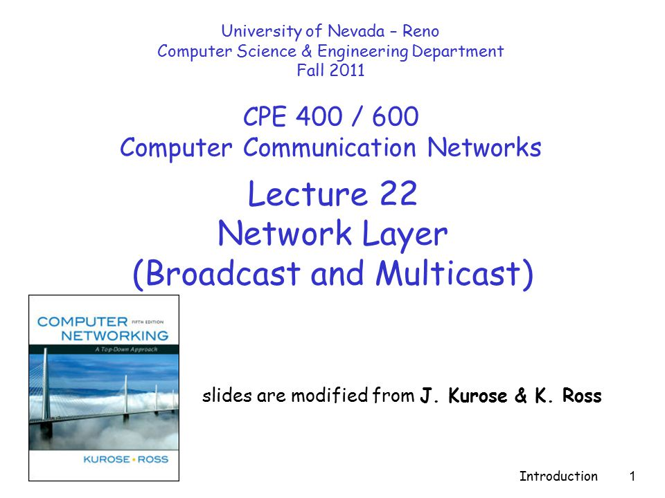 Network Layer4-2 Chapter 4: Network Layer r 4.
