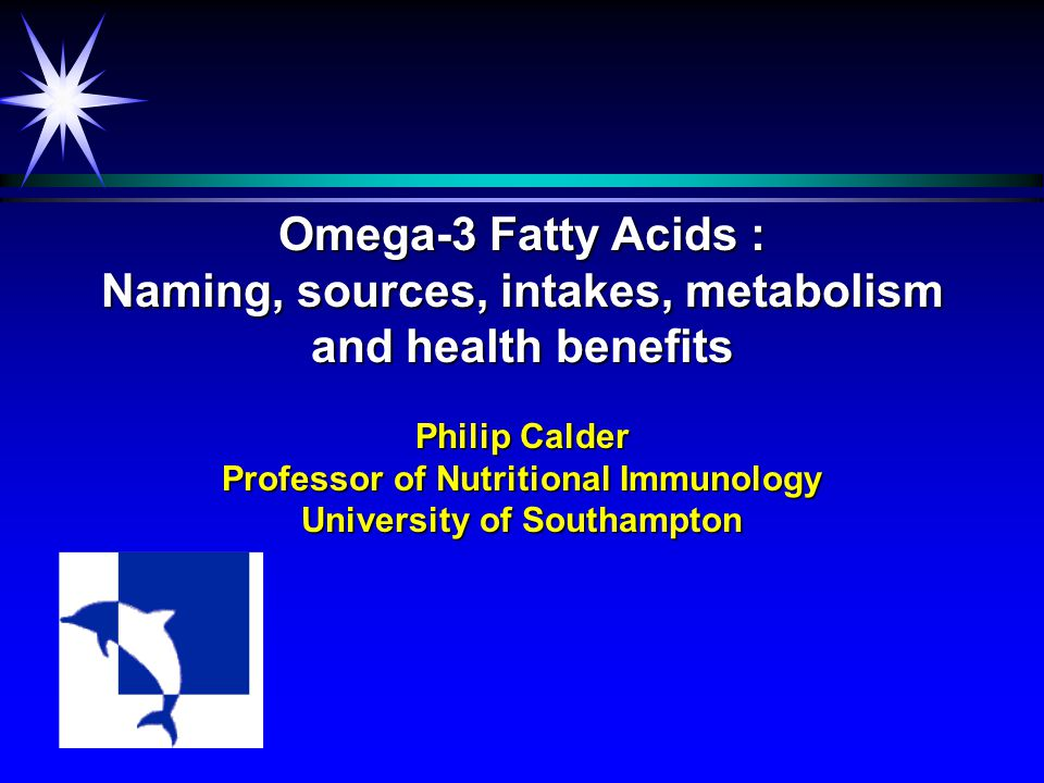 This lecture will cover ä Fatty acid structure, nomenclature, sources, and intakes  Metabolic relationship between  -linolenic acid and long chain omega-3 fatty acids ä Omega-3 fatty acids and cardiovascular health ä Omega-3 fatty acids and visual and brain development ä Recommendations for omega-3 fatty acid intake