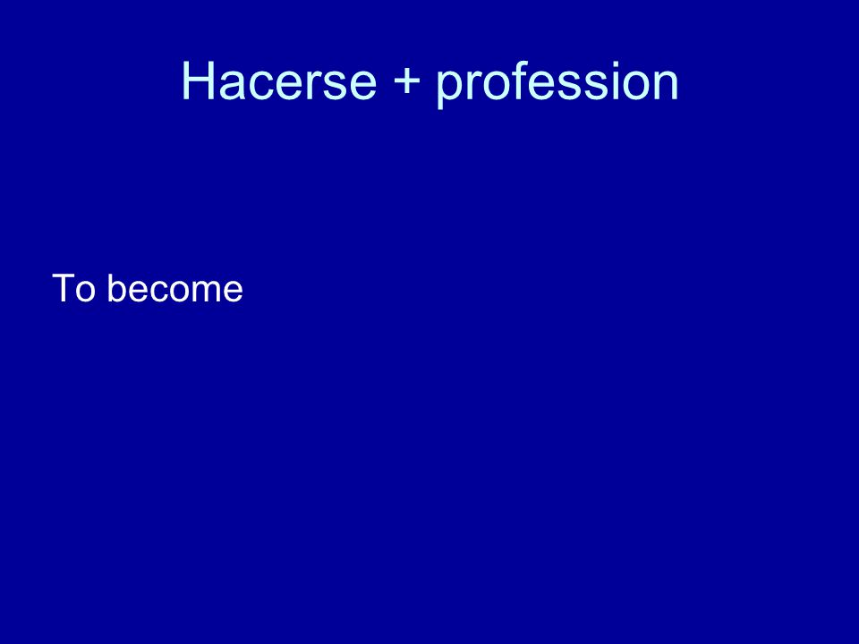 Hacerse daño To hurt oneself