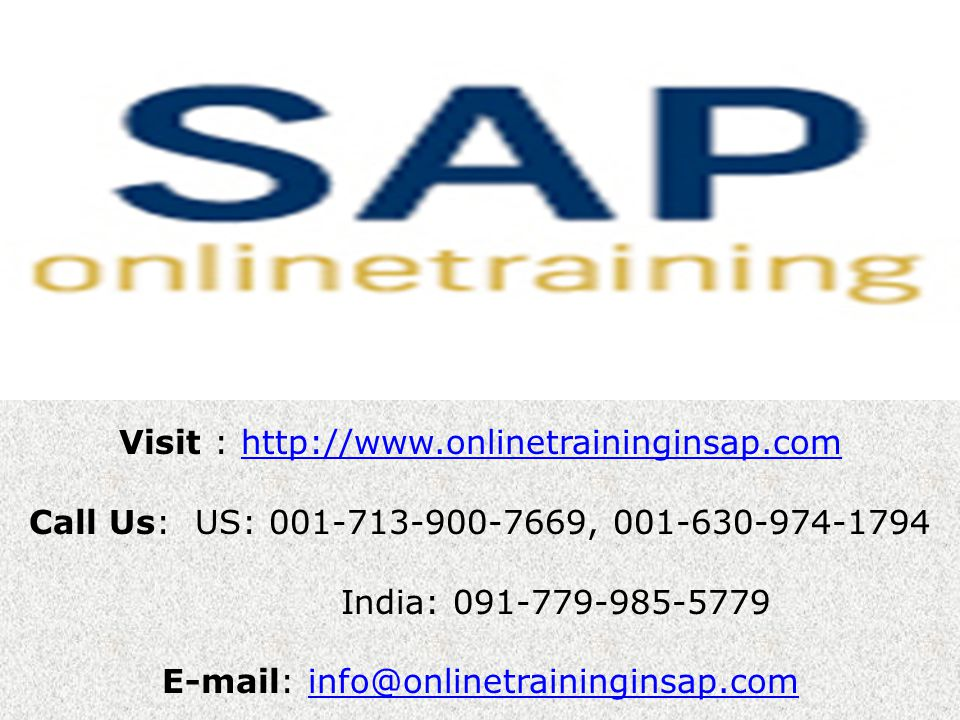 SAP BASIS Online Training and Placement SAP BASIS Course Content What is SAP.