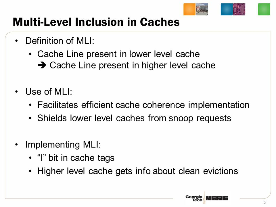 3 IBM Power 4 Cache Hierarchy 1.5MB L2 shared by 2 cores, with a 32MB L3 Inclusion maintained between L1 and L2 Inclusion indication can be false L1 Tag L1$ L2 Cache Inclusion bits 1 Level 3 Cache snoop Bus