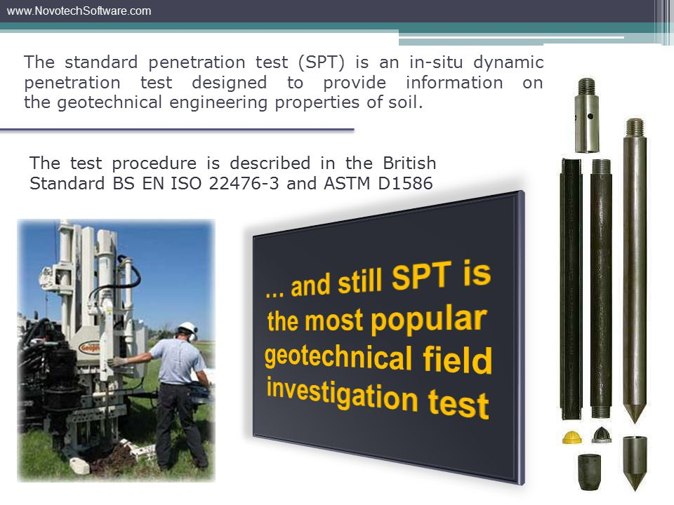 Various SPT equipments have been developed for different type of drill rigs and applications in different situations