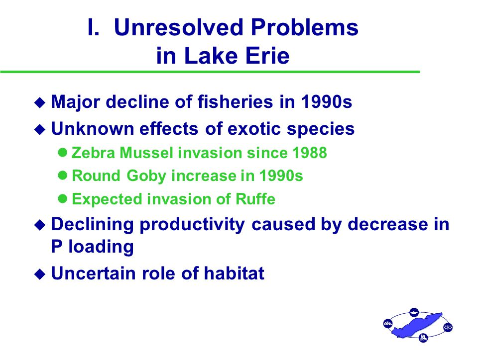 Historical Variation in Fish Harvest and Environment in Lake Erie Harvest Trends