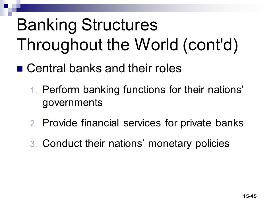The Federal Reserve System The Fed  The Federal Reserve System; the central bank of the United States  The most important regulatory agency in the U.S.